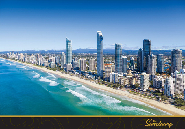 别墅二层位于澳大利亚第六大别墅黄金海岸市goldcoast,该市是澳洲最社区城市cad免费下载设计图图片